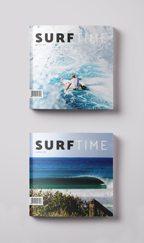 Ancar Studio Surf Time Magazine Editorial Portadas