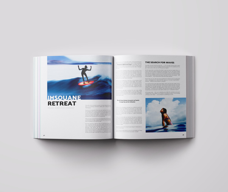 Ancar Studio Surf Time Magazine Editorial Retreat