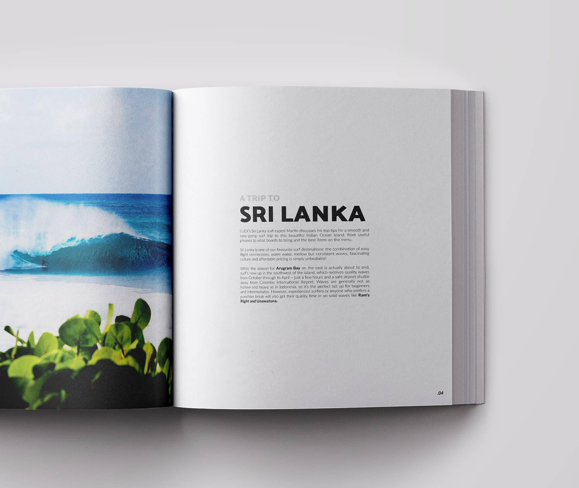 Ancar Studio Surf Time Magazine Editorial Sri Lanka