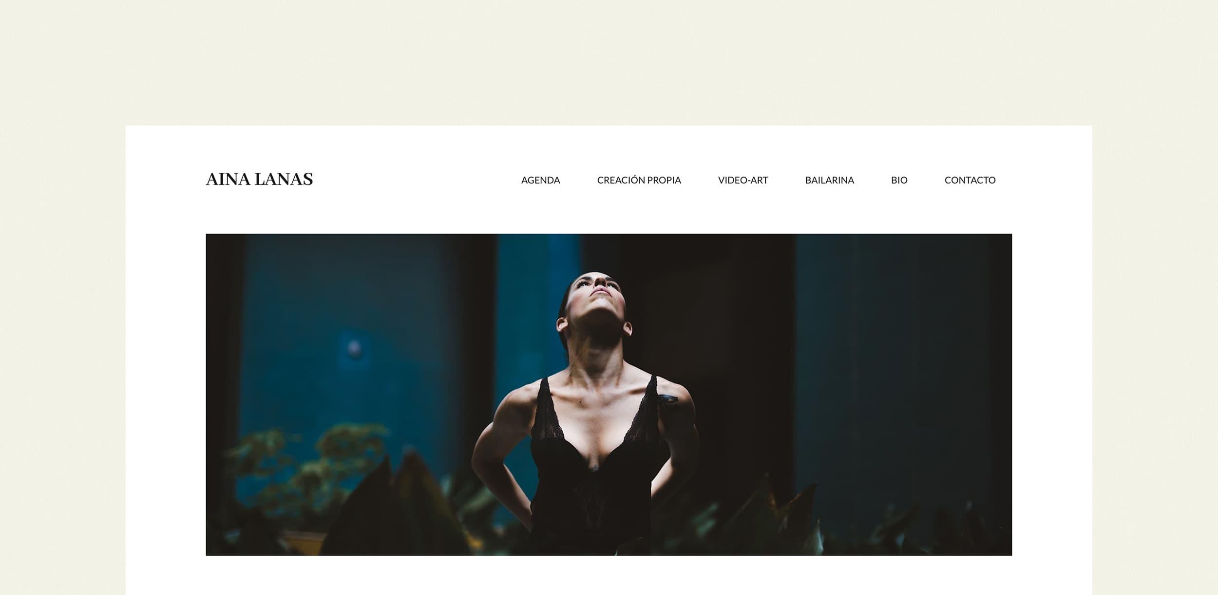 Ancar Studio - Aina Lanas Web Cabecera