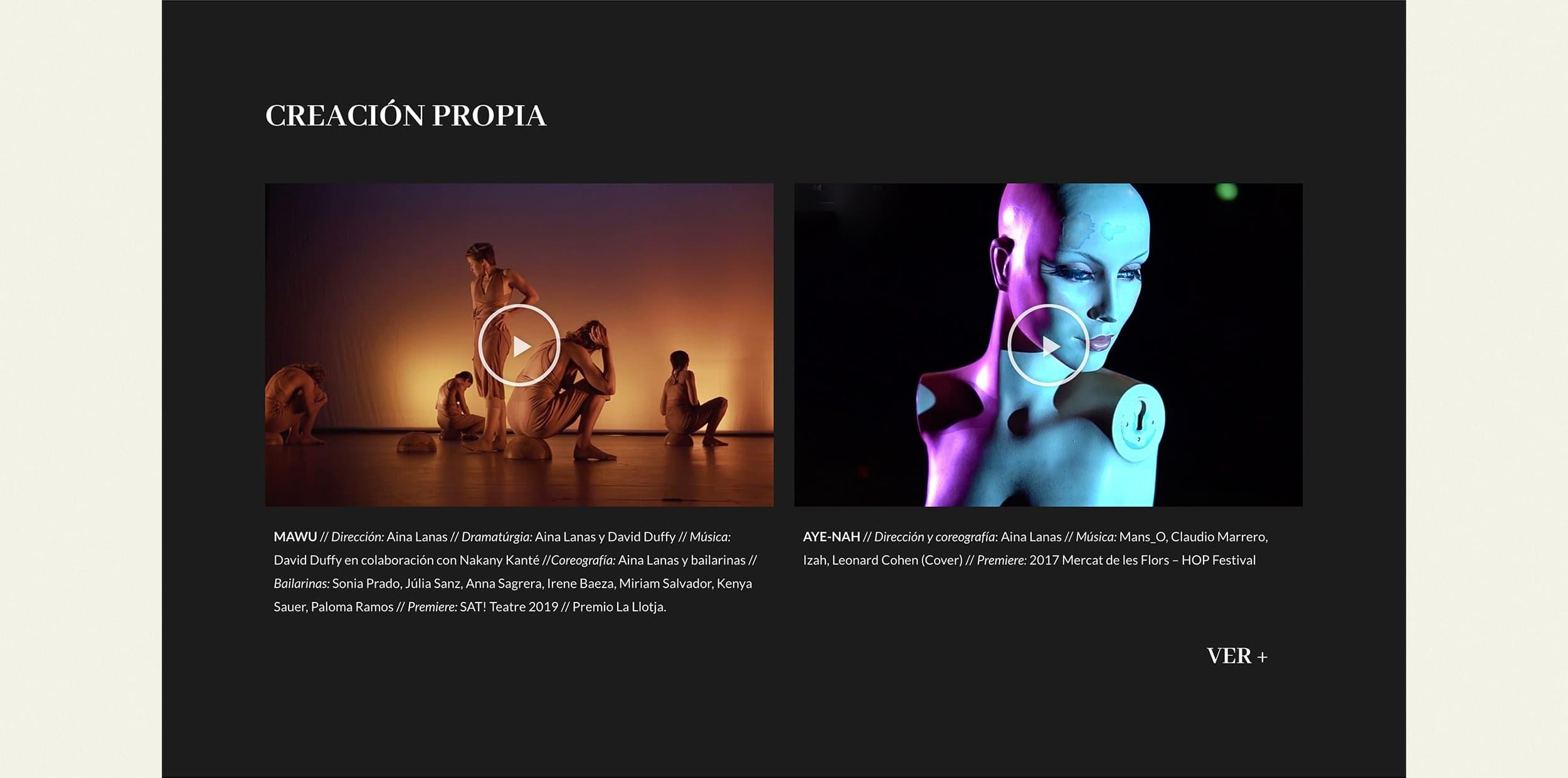 Ancar Studio - Aina Lanas Web Creación Propia