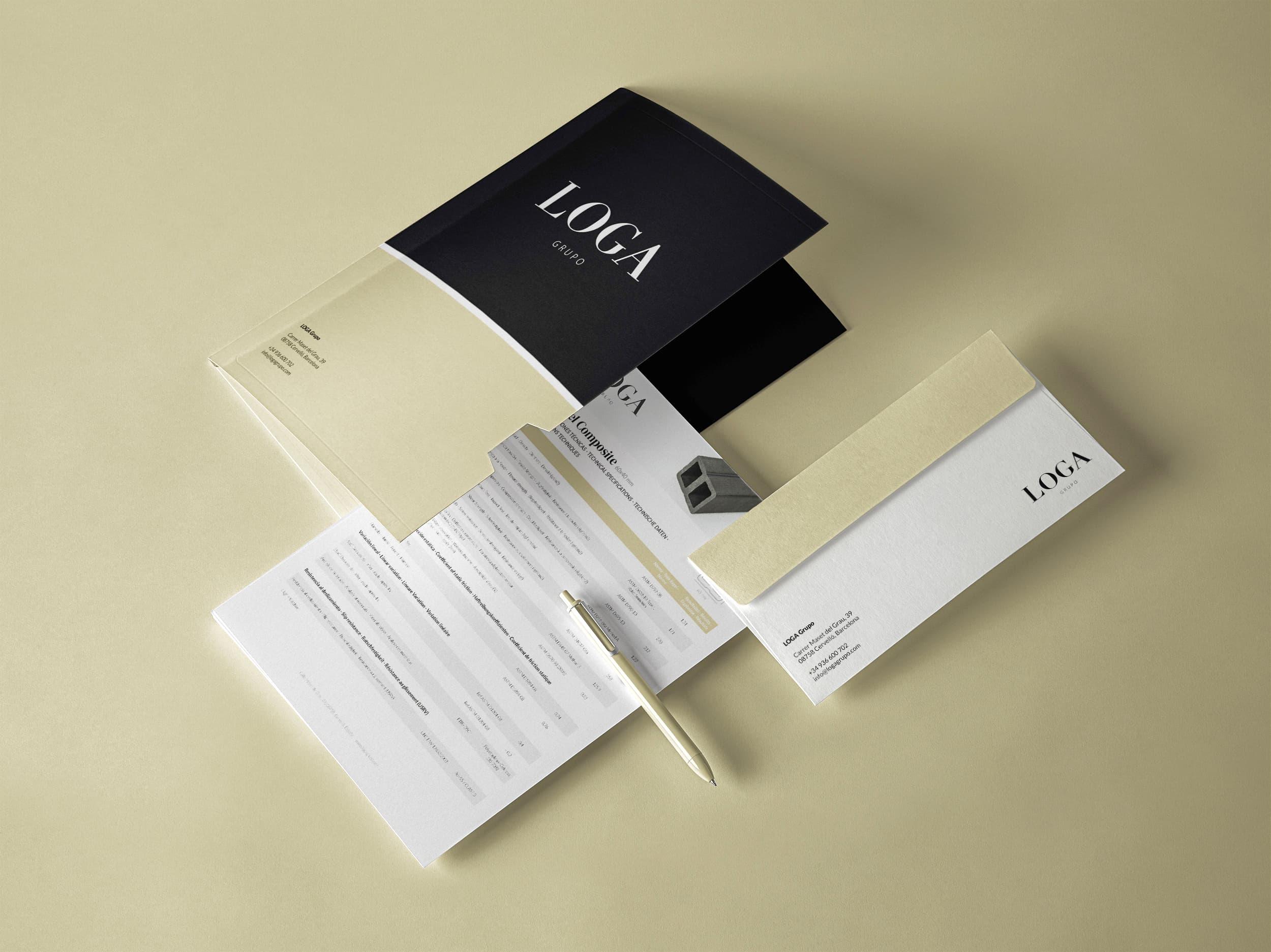 Ancar Studio - LOGA Grupo- Branding Logo