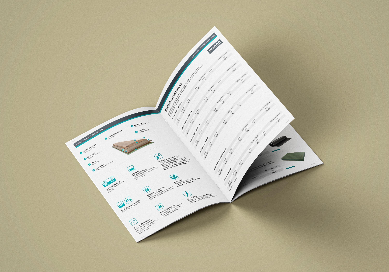 Ancar Studio - Loga - Diseño Editorial Catálogo Parquet
