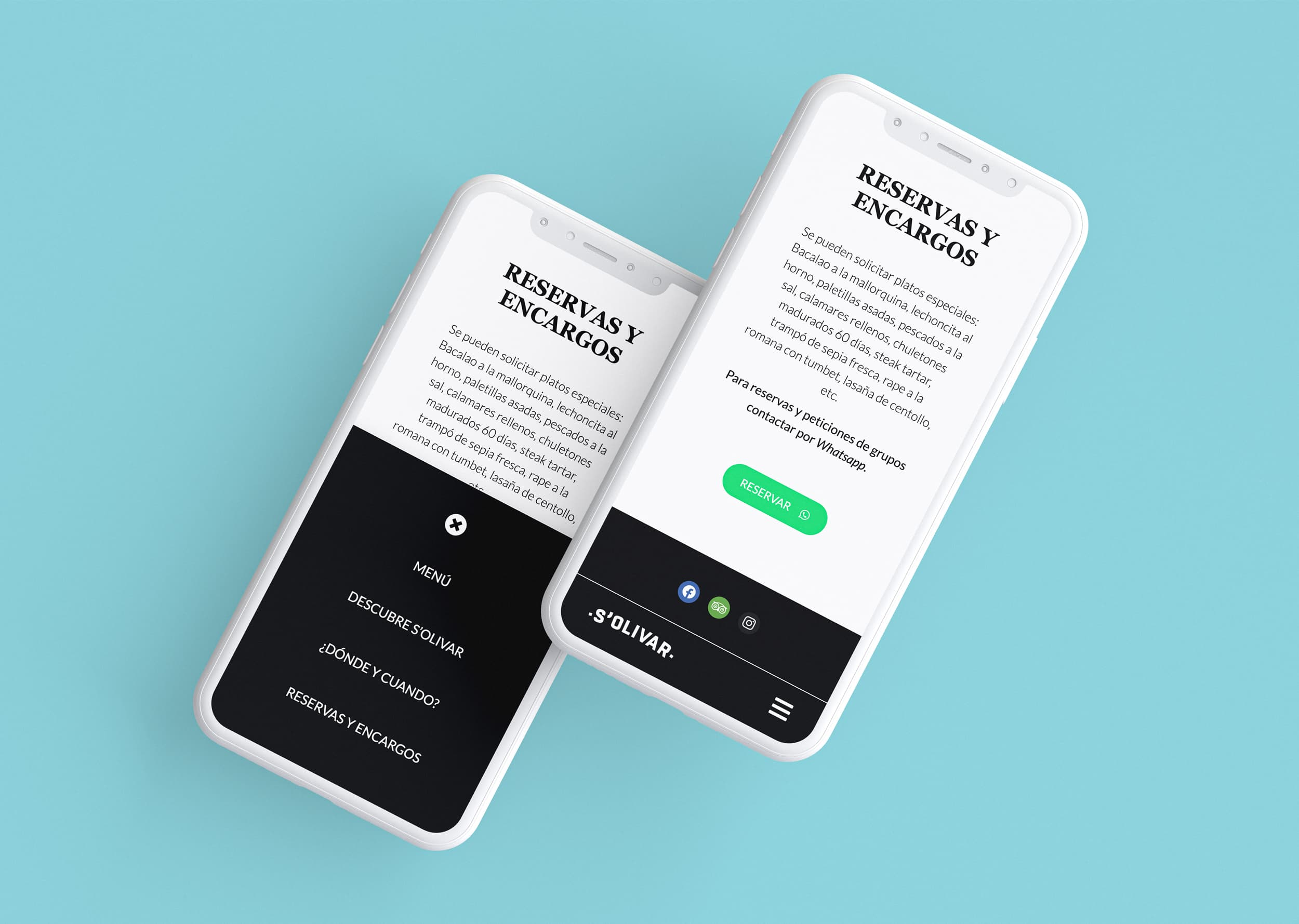 Àncar Studio - s'Olivar -Mobile First Responsive