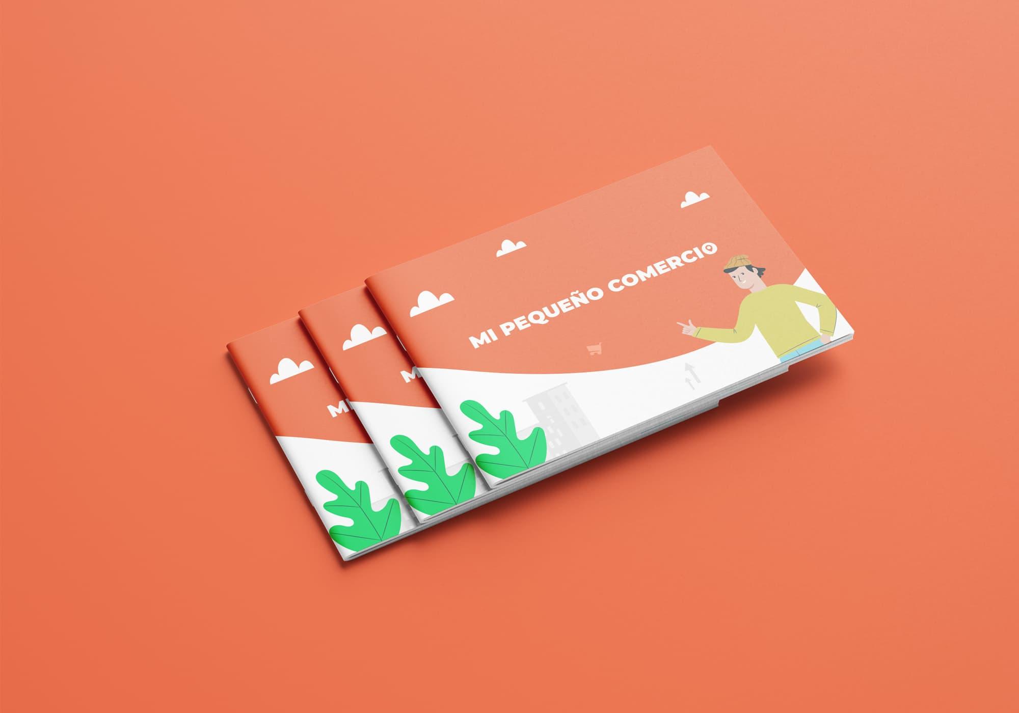 Mi Pequeño Comercio - Diseño Editorial - Presentación