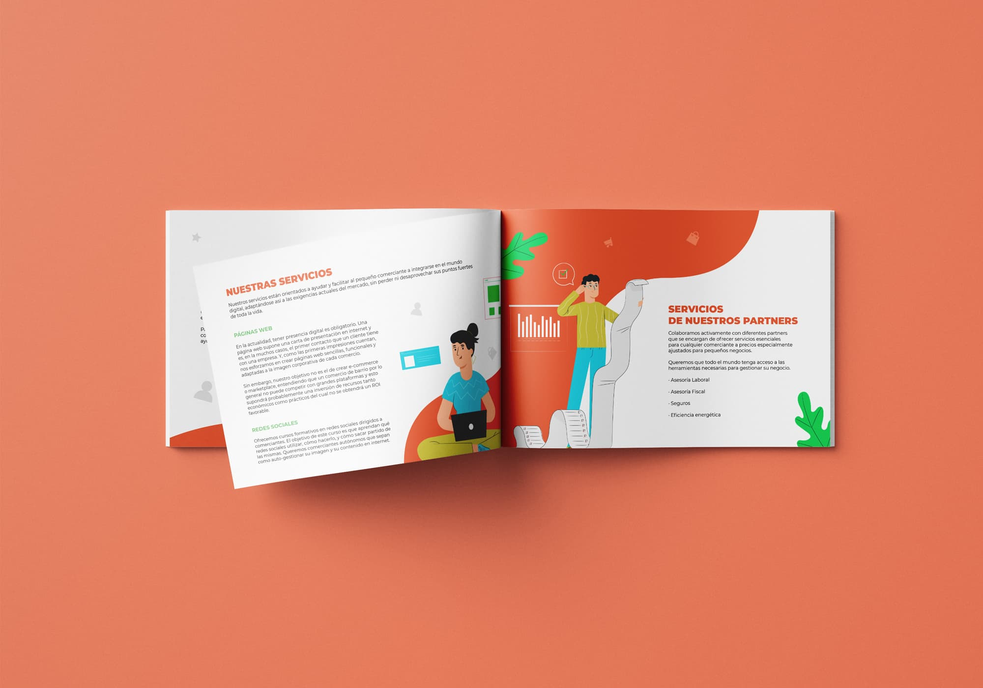 Mi Pequeño Comercio - Diseño Editorial - Catálogo
