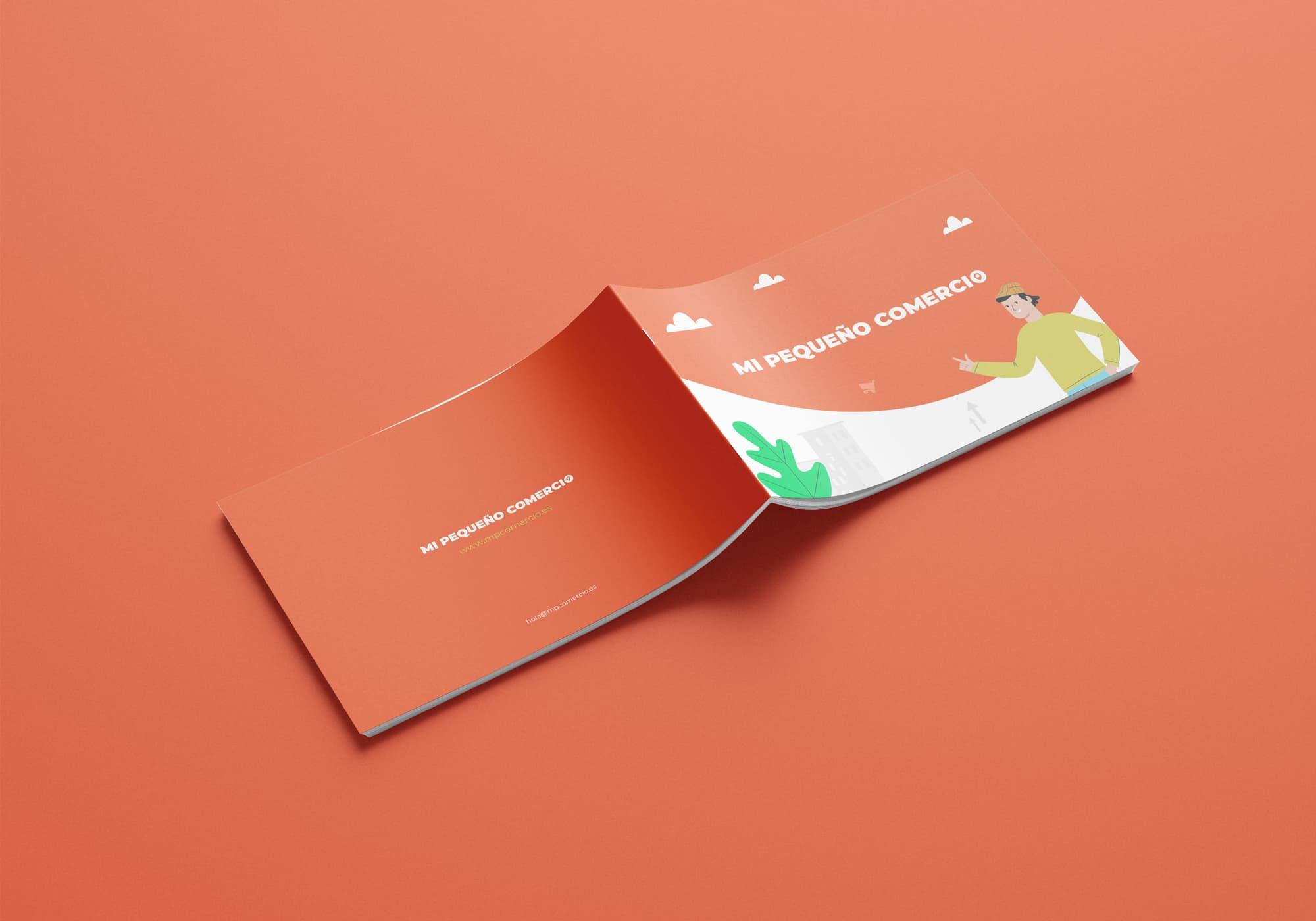 Mi Pequeño Comercio - Diseño Editorial - Brochure