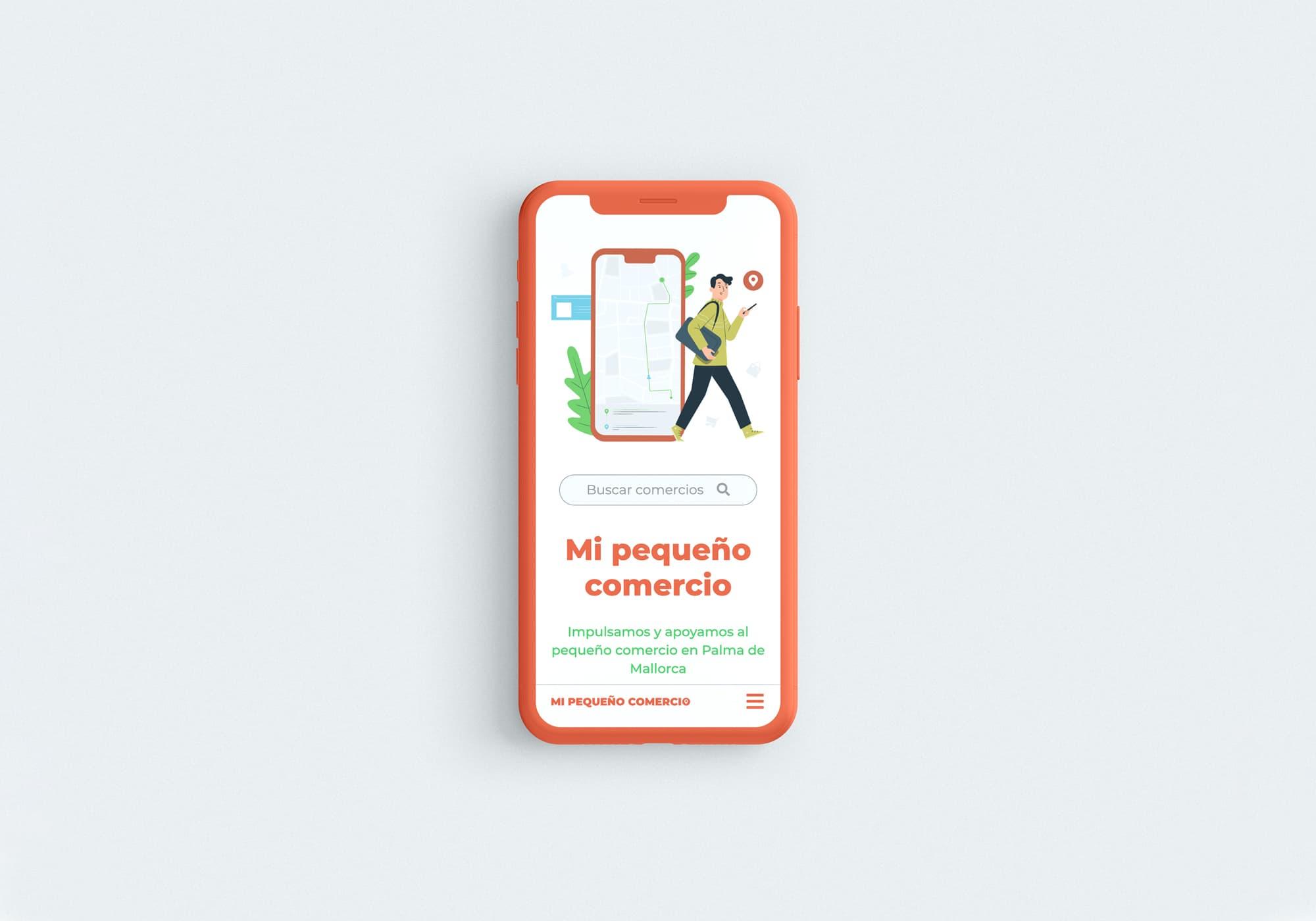 Mi Pequeño Comercio - Diseño Web - Mobile First