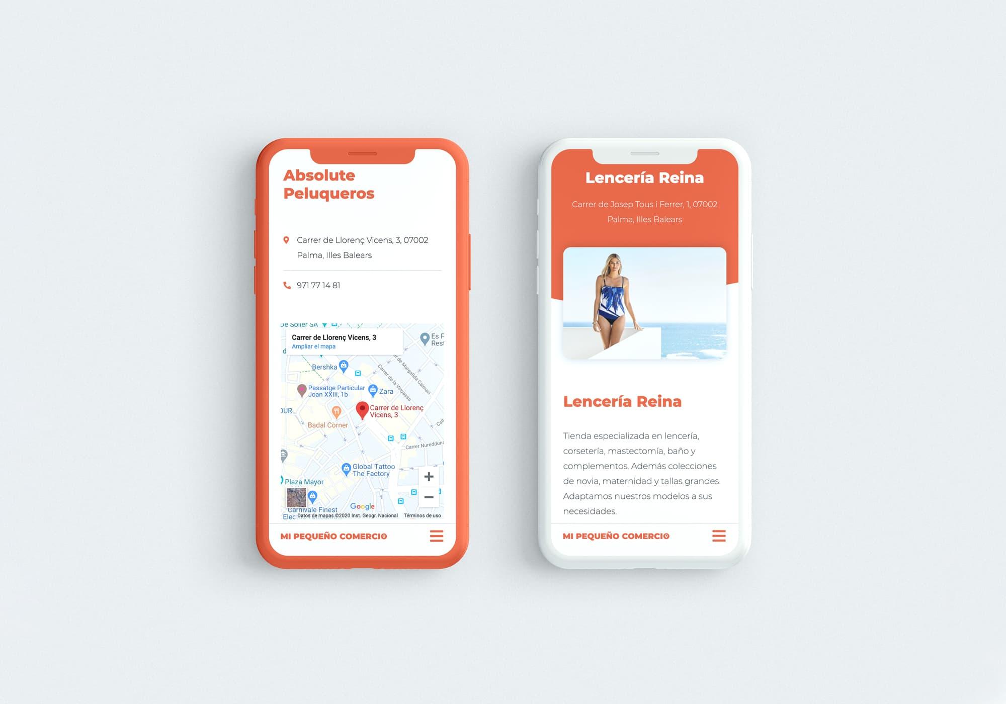 Mi Pequeño Comercio - Diseño Web - Tienda