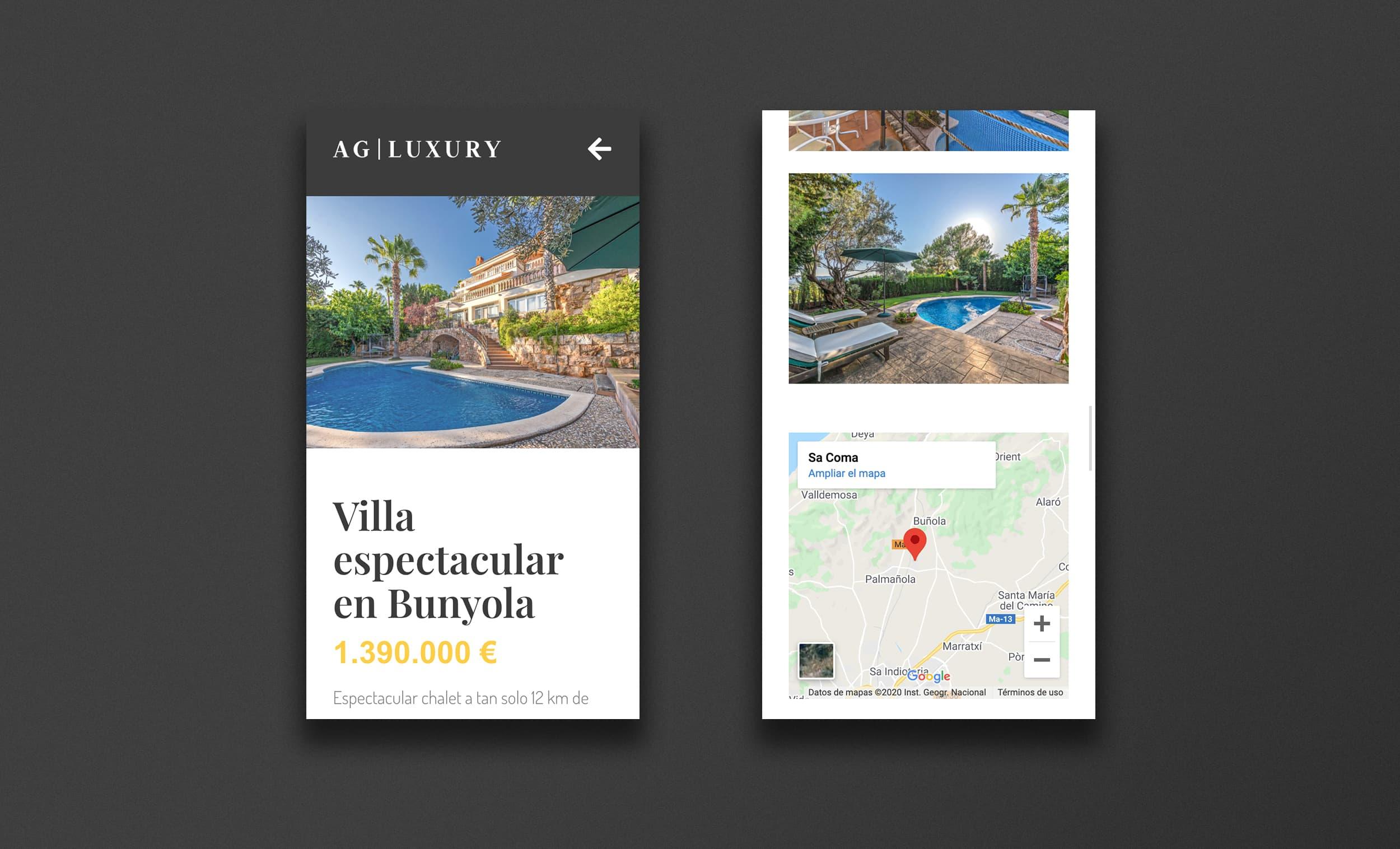 Àncar Studio - AG Luxury - Web Inmobiliaria Mallorca - Responsive