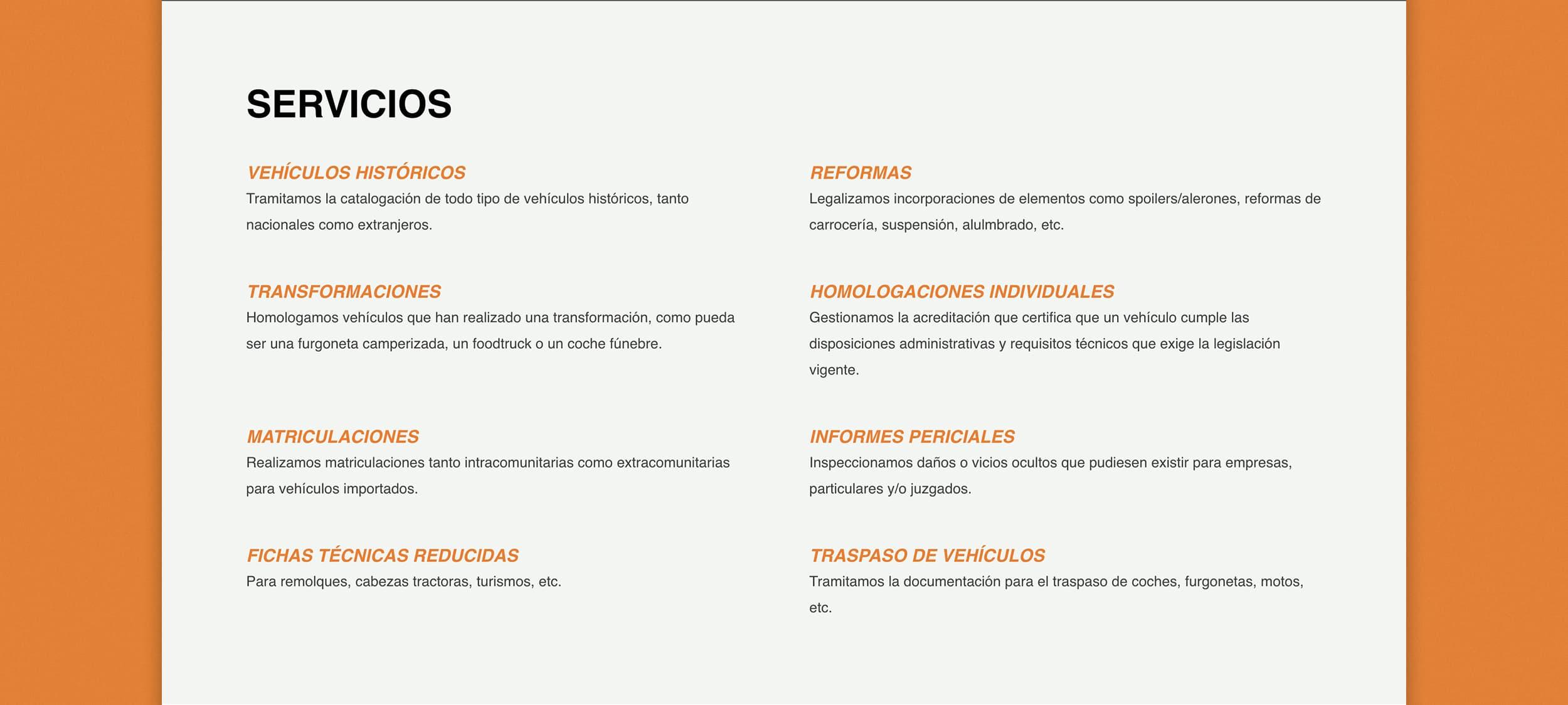 Diseño Web AP Técnica Mallorca - Àncar Studio - Servicios
