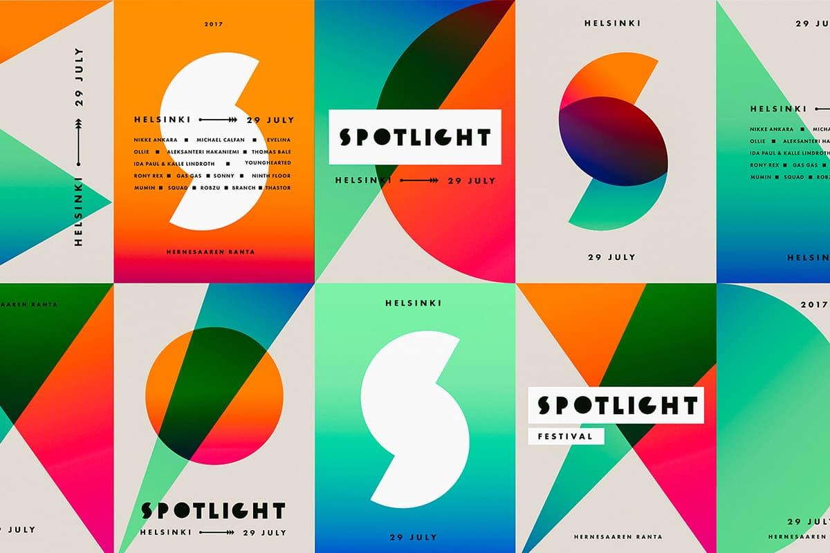 Las 8 tendencias de diseño gráfico que han triunfado este 2020: formas geométricas