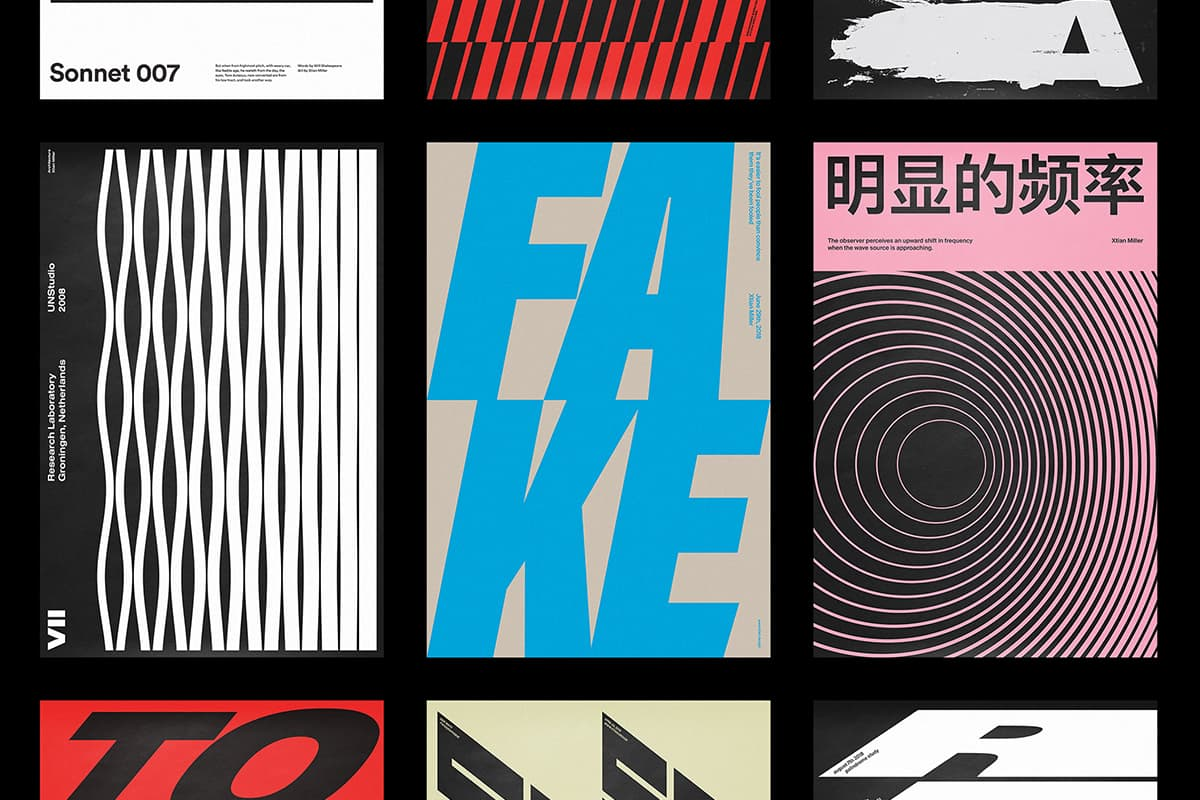 Las 8 tendencias de diseño gráfico que han triunfado este 2020: tipografía de gran tamaño