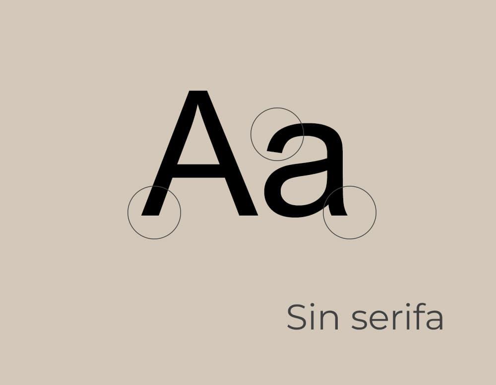 Cómo elegir la tipografía correcta: Sans Serif