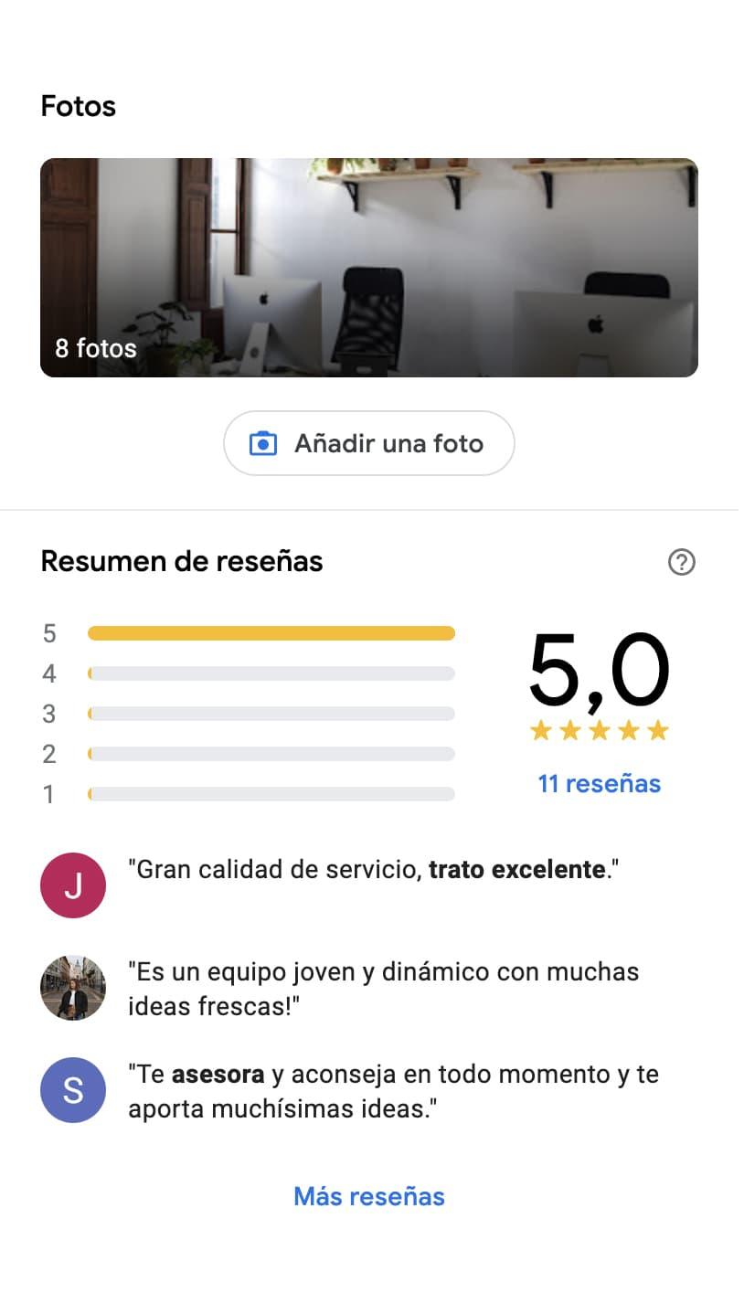 Visibilidad en Internet para negocios locales con Google My Business