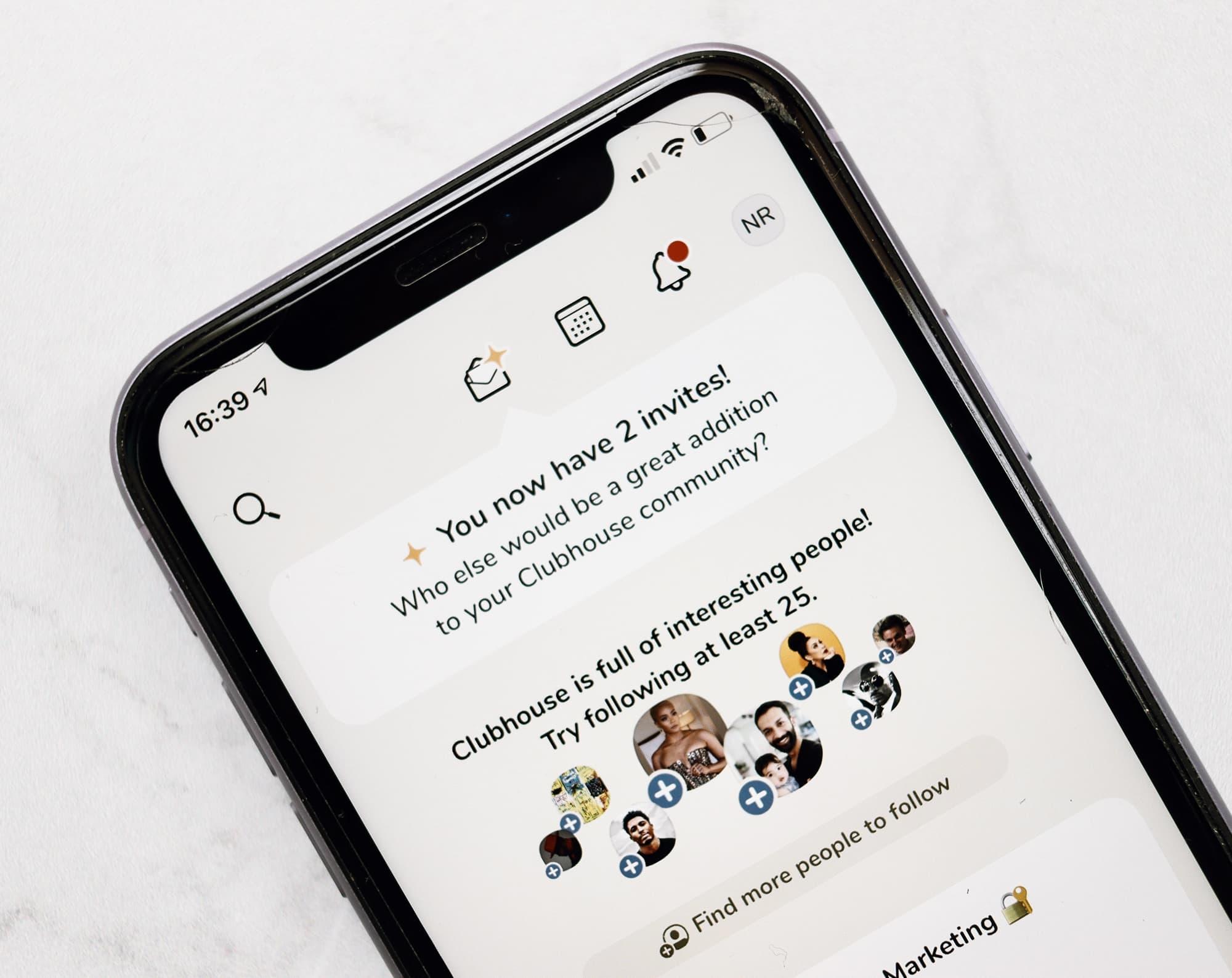 Clubhouse: la app exclusiva para la que necesitas una invitación
